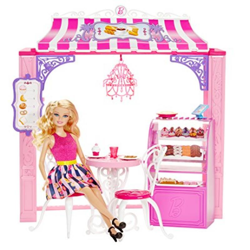 Mattel Barbie Life in the Dreamhouse Malibu Ave Bakery and Doll Playset