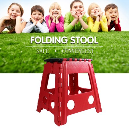 Cool 16 Super Strong Folding Step Stool With Handle For Adults And Kids Kitchen Stepping Stools Garden Step Stool In Red Gamerscity Chair Design For Home Gamerscityorg