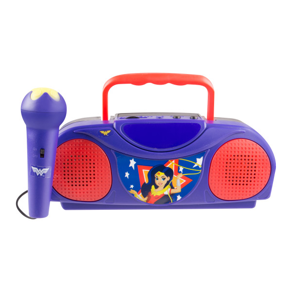 DC Superhero Girls Radio Karaoke by Sakar