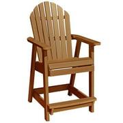 HighwoodUSA AD-CHCA2-TFE Hamilton Counter Deck Chair, Toffee