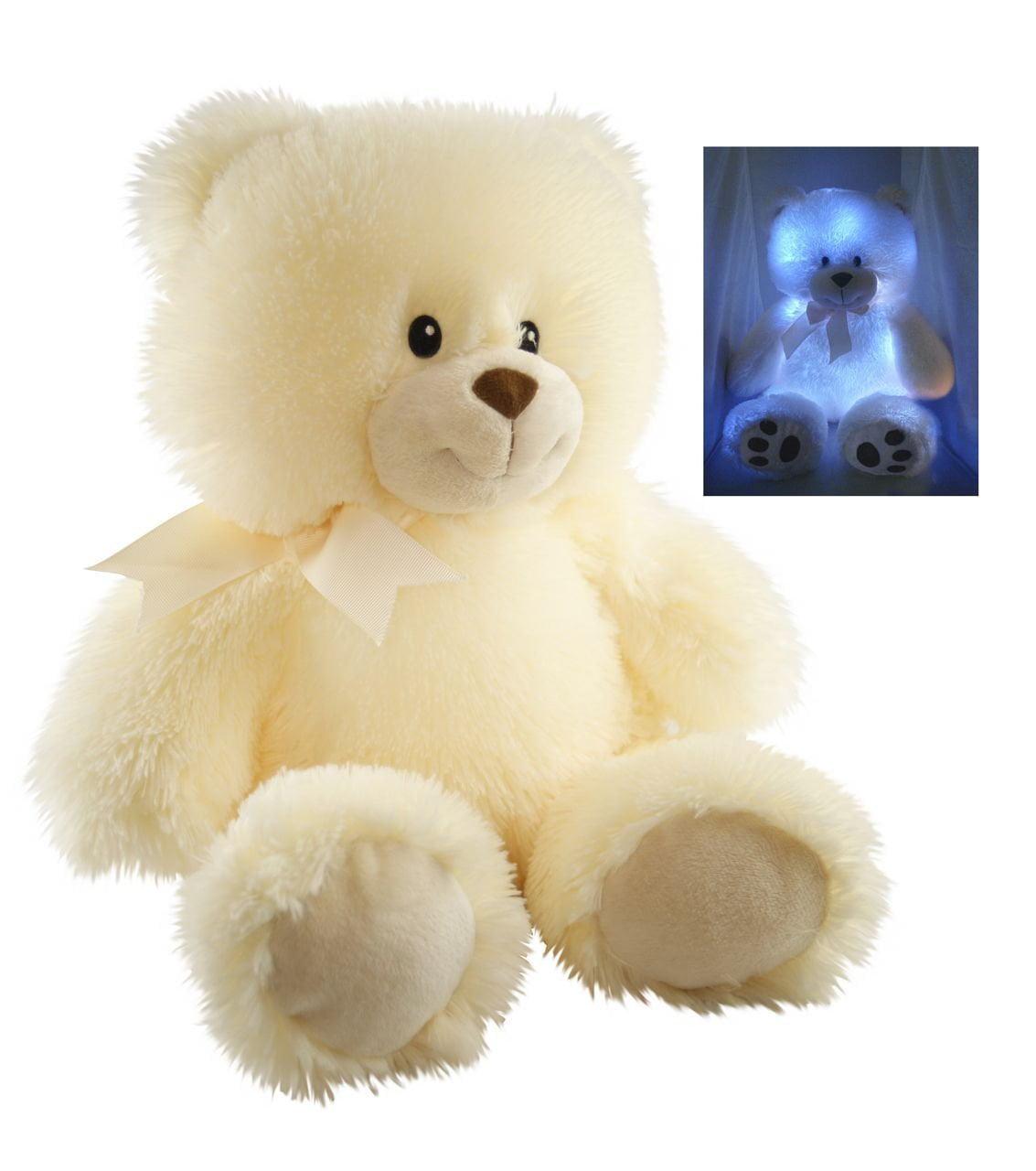 Cuddle Barn New Nite Brite Pals Stuffed Toy Teddy Bear Cuddles the Cub by Cuddle Barn