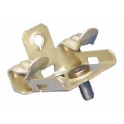 Nvent Caddy Flange Clip, Spring Steel, 1 EA Zinc Phosphate  Spring Steel  M24S