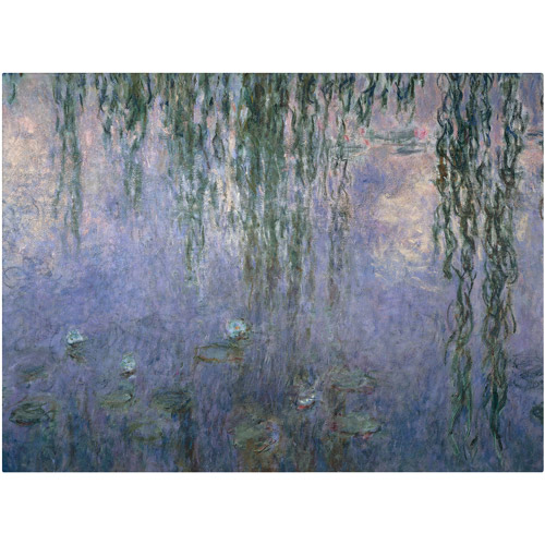 "Trademark Fine Art ""Water Lilies III"" 1840-1926 Canvas Art by Claude Monet"