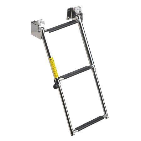 Garelick Sport Ladder (Garelick Eez-In 3-19683 Telescoping Transom Ladder, 4-Step )