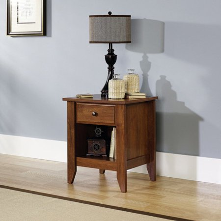 Sauder Shoal Creek Collection Nightstand, Oiled Oak