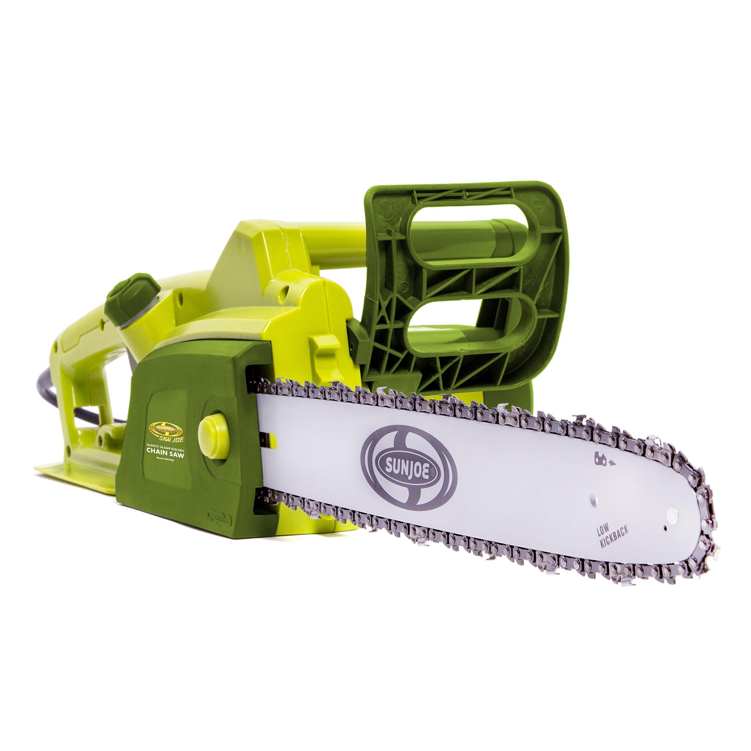 Sun Joe 6-inch 14-amp Electric Chain Saw Swj700e - 8000 Rpm - Variable Speed - 14 A (swj700e)