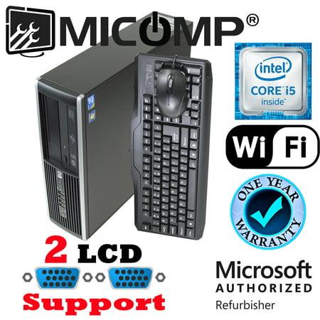 Refurbished Fast HP Pro Computer I5-3470 Quad Core 3.2Ghz 8Gb 2Tb WiFi Windows 10 Professional 64 Bit 1 Year