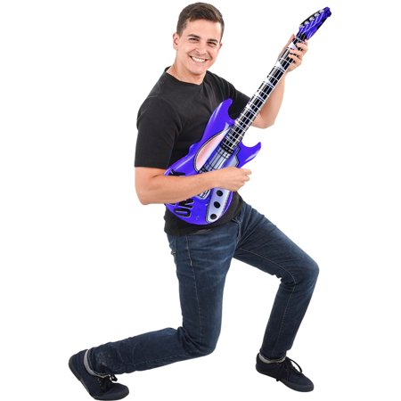 Inflatable Dark Blue Hero Costume Party Decoration Guitar](Inflatable Guitars Ireland)