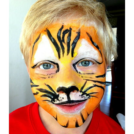LAMINATED POSTER Tiger Lion Make-up Child Mask Costume Poster Print 11 x - Lion Mask