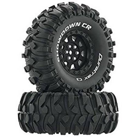 Duratrax Showdown CR C3 Mounted 1.9 Crawler 2 R/C Car Parts, Black