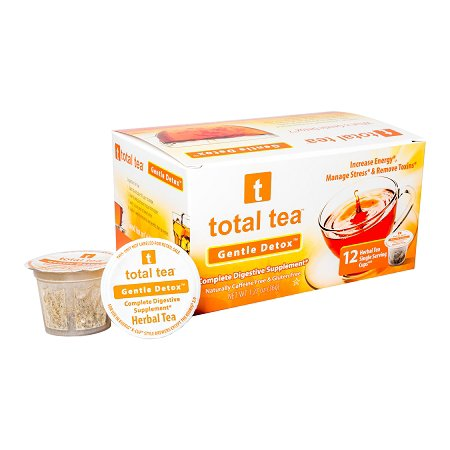 Total Tea Detox Tea Kcup | 12 count | Helps w/ Bloating Constipation Weight  Loss