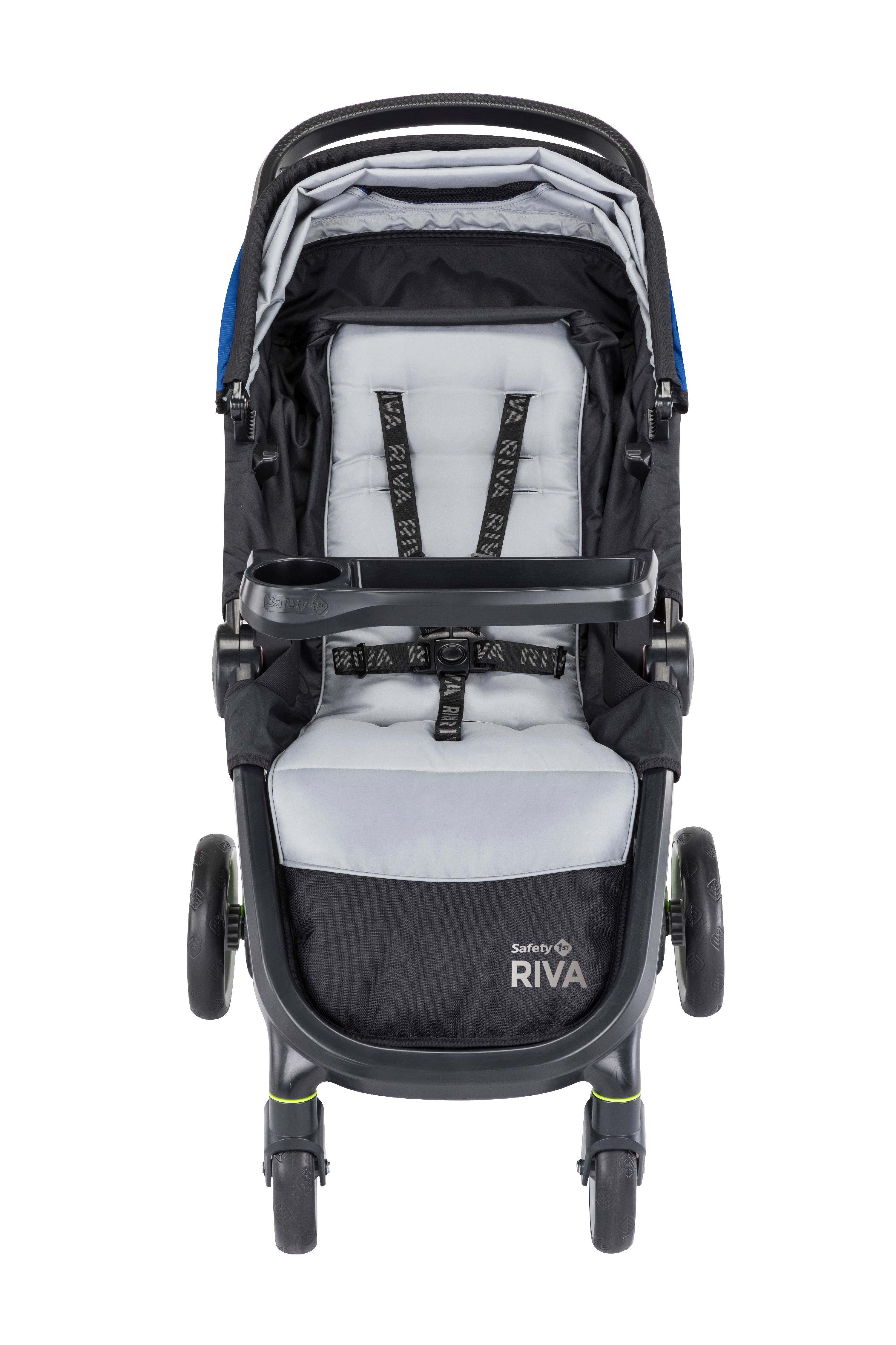 Safety 1st RIVA™ Ultra Lightweight Travel System Stroller with onBoard35™  FLX infant car seat , Black Tie