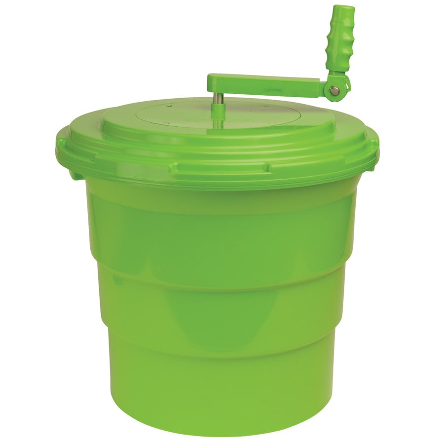Winco  Green 5-gallon Salad Spinner