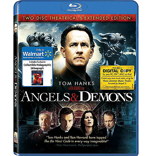 Angels & Demons (With Holographic Cell) (2-Disc) (Blu-ray) (Exclusive) (Widescreen)