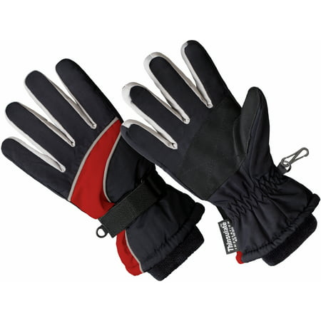 SK1005, Boys Premium Ski Glove, 3M Thinsulate Lined (One Size Fits Most)