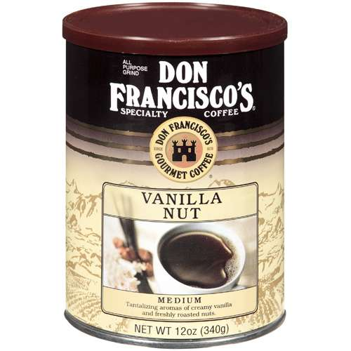Don Francisco'sVanilla Nut Specialty Flavored Coffee, 12 oz