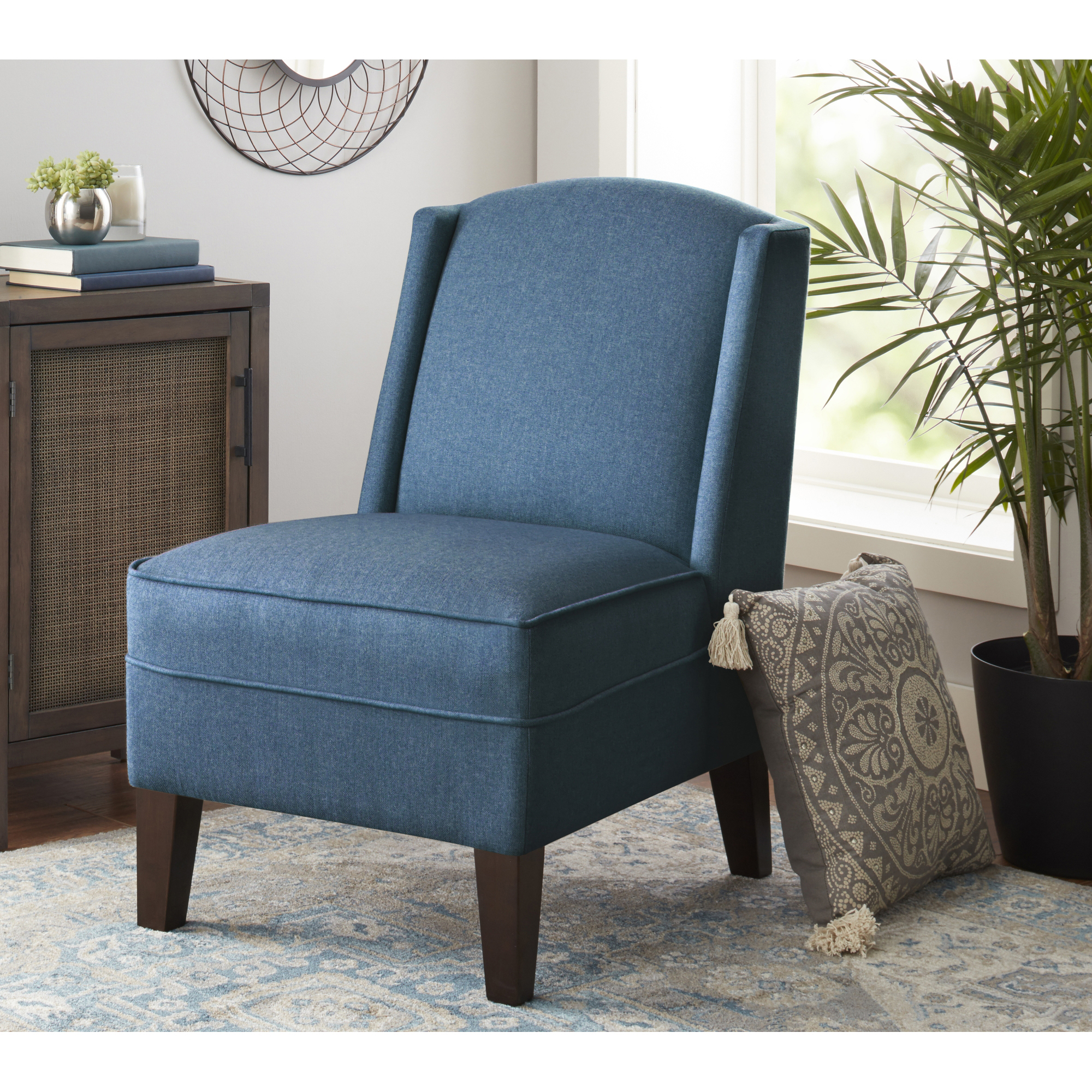 better homes and gardens kline accent chair