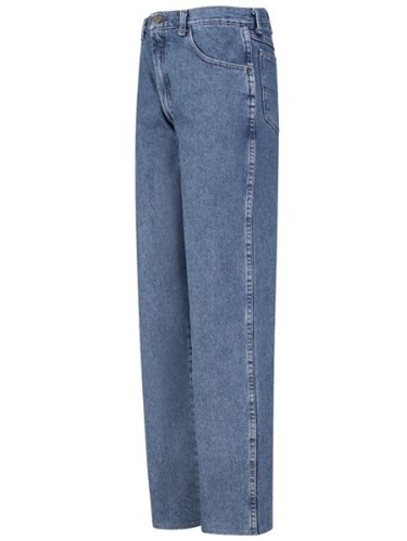 PD60 Men's Relaxed Fit Jean Stonewash 31W x Unhemmed