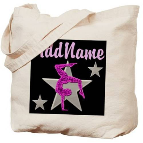 Cafepress Personalized Tumbling Gymnast Tote Bag