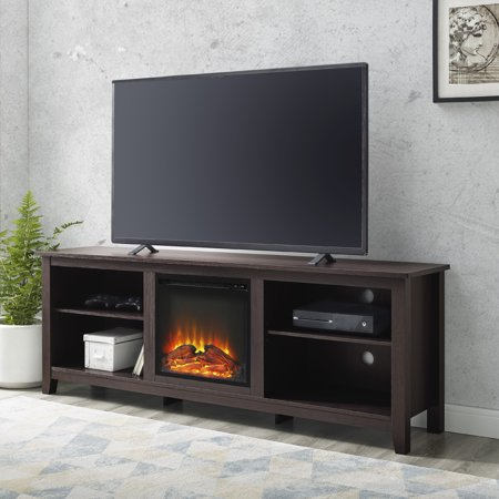 Walker Edison Traditional Fireplace TV Stand for TV's up to 78