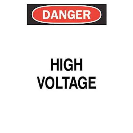 ELECTRICAL HAZARD SIGN BRADY (Electrical Hazard Slip)