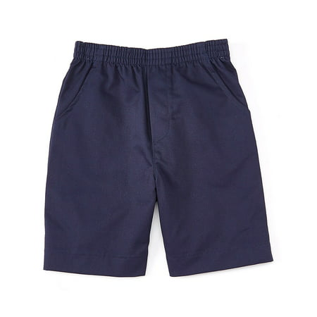 unik Boys All Elastic Waist Pull up Shorts Navy Size 8