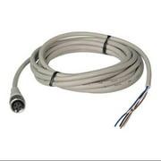 AUTONICS CID4-5R Area Sensor Receiver Cordset, 4 Pin, Plug