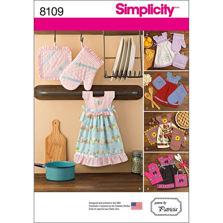 Simplicity Oven Mitt - SIMPLICITY CRAFTS-ONE SIZE