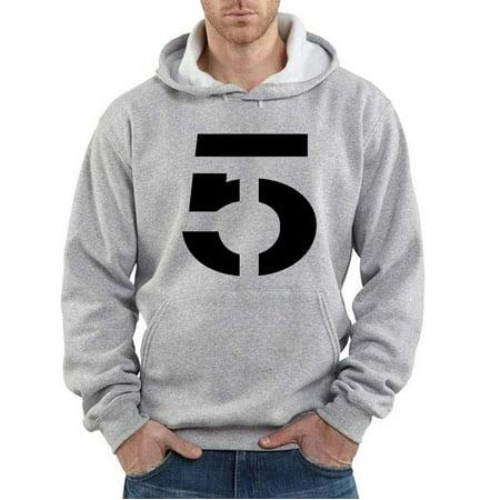 Shedd Shirts Grey Tom Brady New England Patriots  Tb 5  Youth Small Hooded Sweatshirt