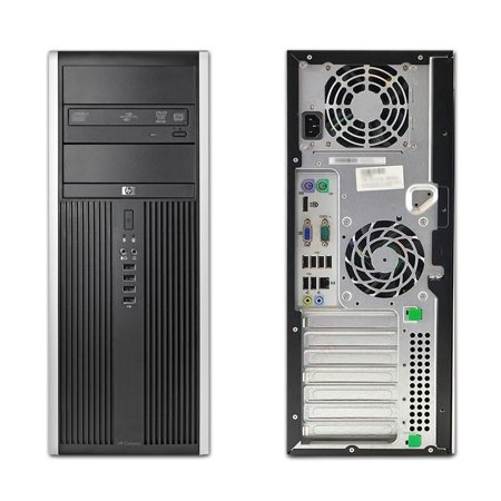 HP Compaq Elite 8200, Microtower, Intel Core i5-2500 up to 3.70 GHz, 8GB DDR3, NEW 500GB SSD, DVD-RW, No Operating System - image 2 de 3