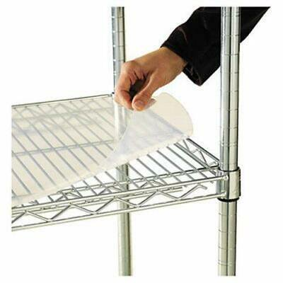 Alera Shelf Liners For Wire Shelving, Clear Plastic, 4 per Pack (ALESW59SL3618) Alera Shelf Liners