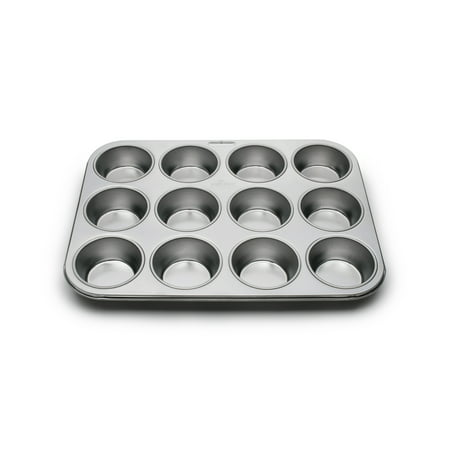Steel Muffin Pan (Stainless Steel 12 Cup Muffin)