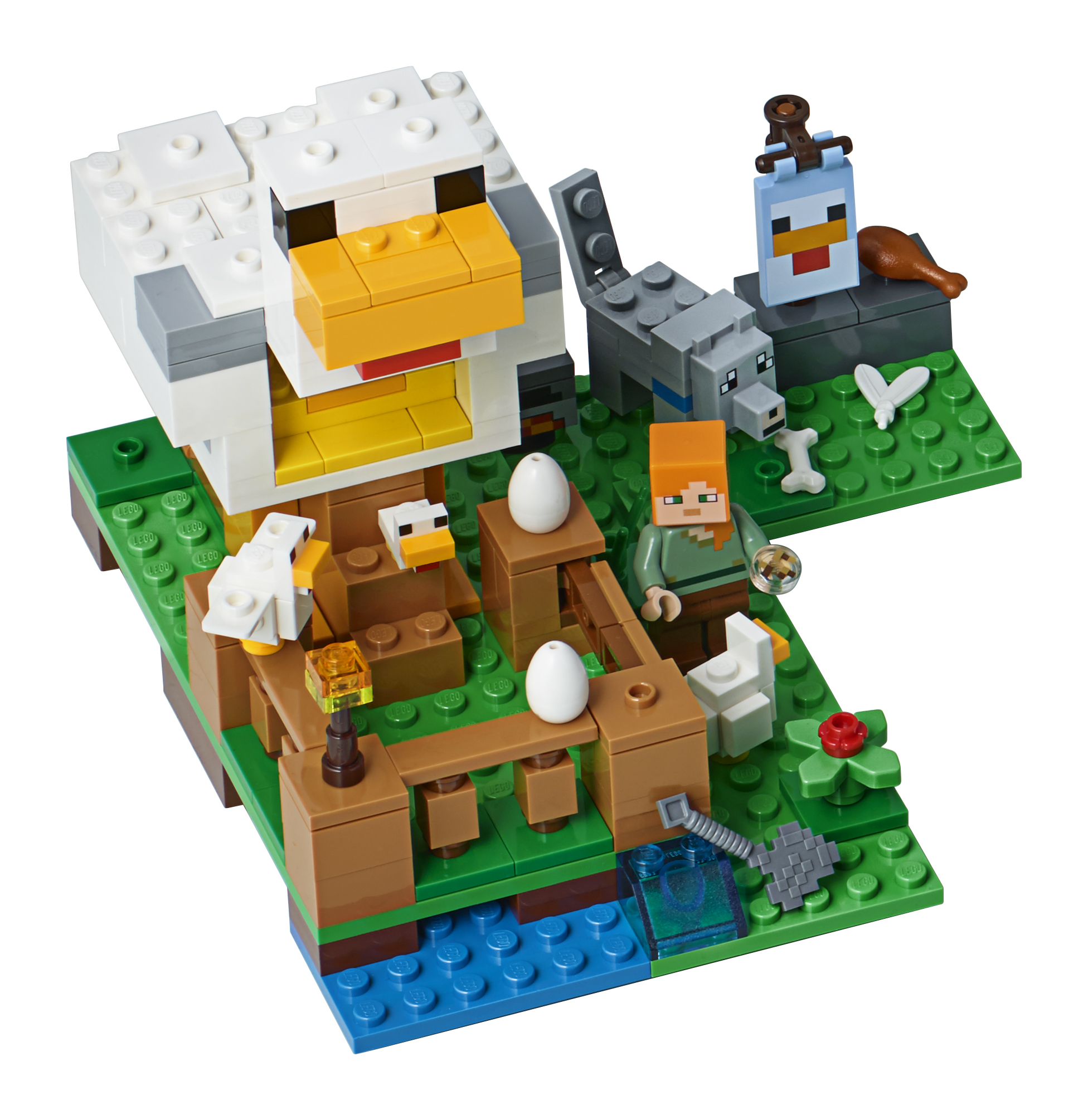 Lego Minecraft The Chicken Coop 21140 by LEGO System Inc