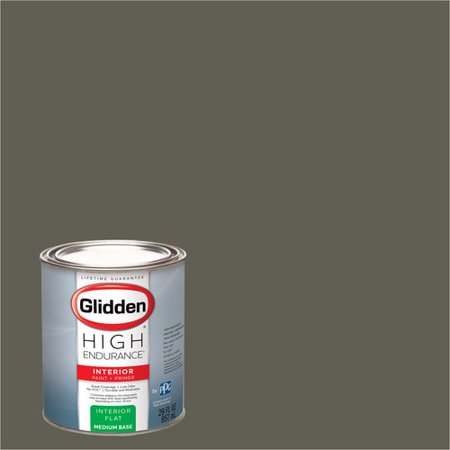 Glidden High Endurance, Interior Paint and Primer, Grey Squirrel, #30YY 14/070