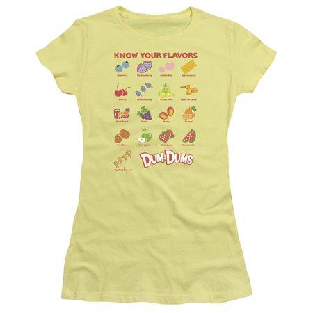 Trevco DUM DUMS FLAVORS Banana Juniors Female - Dum Dum Flavors