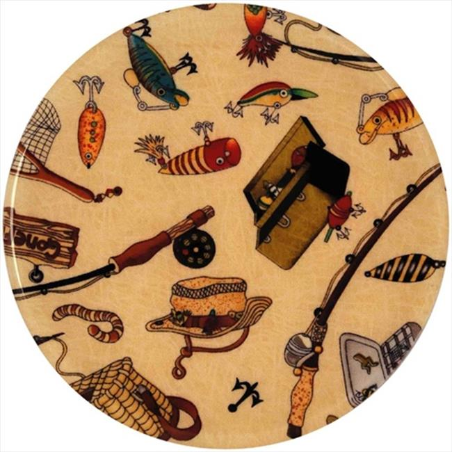 Andreas TR-224 Gone Fishing Silicone Trivet - Pack of 3 trivets