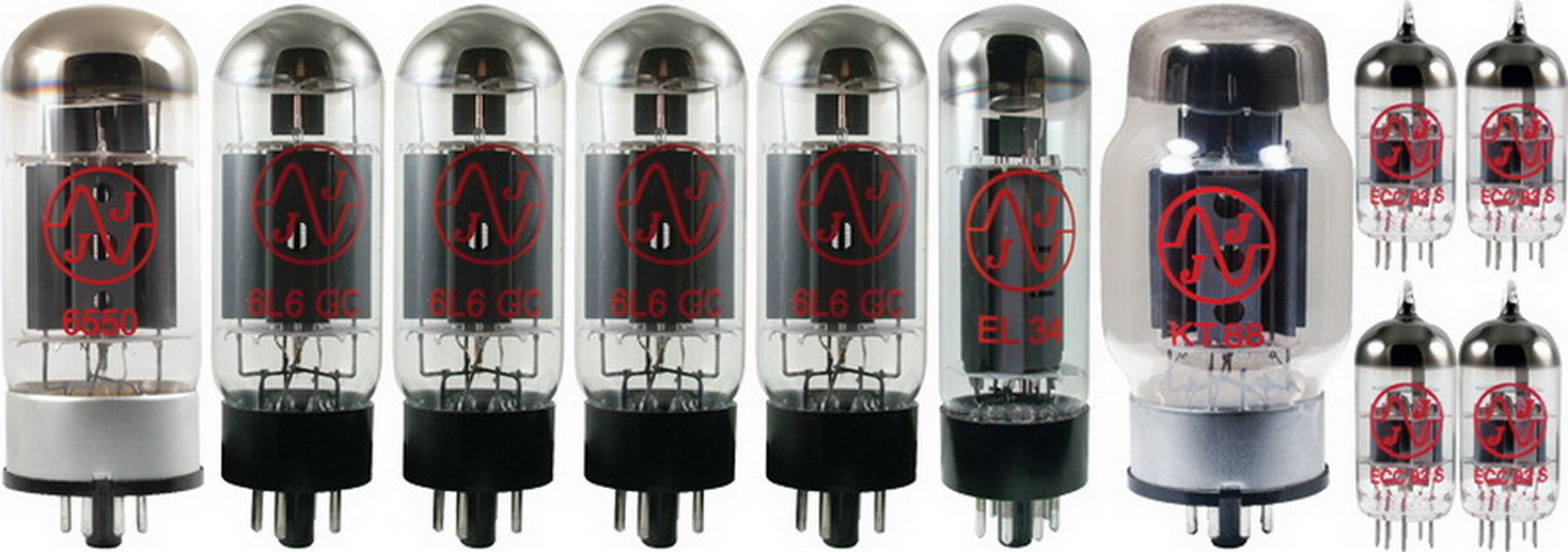Click here to buy Tube Complement for Groove Tubes D-75 Dual amp.