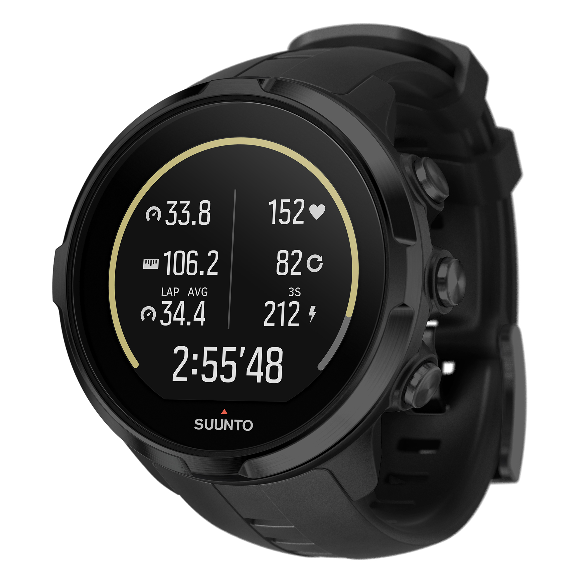 Suunto Spartan Sport Wrist HR Watch, Black by Suunto