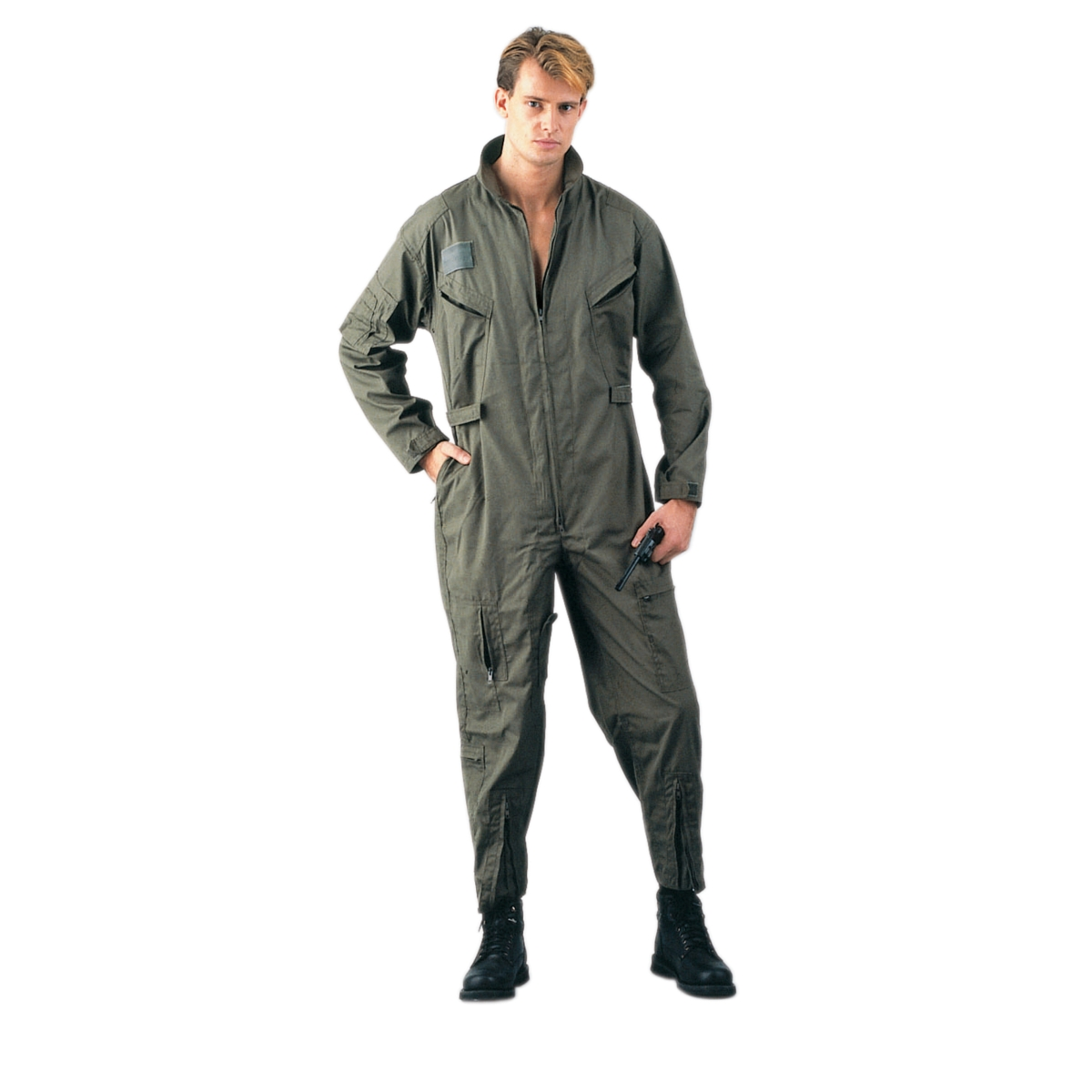 Olive Drab Air Force CWU-27P Style Flightsuit, Coverall by Rothco