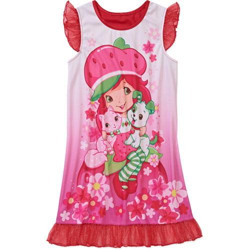 Strawberry Shortcake Girls Nightgown