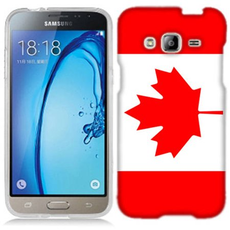 Mundaze Canada Flag Phone Case Cover for Samsung Galaxy Core Prime Prevail