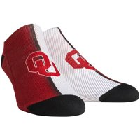 Oklahoma Sooners Rock Em Socks Campus Stripe Ankle Socks