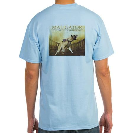 1a0b0aec CafePress - CafePress - Maligator (Grey) - Light T-Shirt - CP - Walmart.com