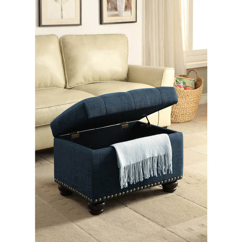 Convenience Concepts Designs4Comfort 5th Avenue Storage Ottoman, Multiple Colors