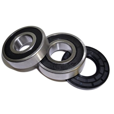 HQRP Bearing and Seal Kit for Frigidaire 131525500 41739012890 41739012891 41739022890 41739022891 970-C48112-10 CFW2000FW2 Front Load Washing Machine Washer Tub + HQRP