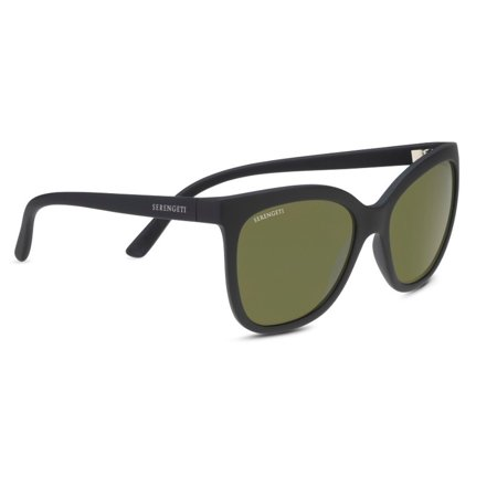 Serengeti Agata 57mm Polarized Sunglasses for Women (Matte (Serengeti Glasses Repair)