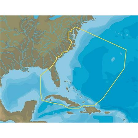 Bay Microsd - C-MAP MAX-N Plus NA-Y063 Chesapeake Bay to Cuba microSD-SD NA-Y063 Chesapeake Bay to Cuba - microSD/SD