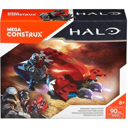 Mega Construx Halo Banished Ghost Rush Building Set - Best UNNAV