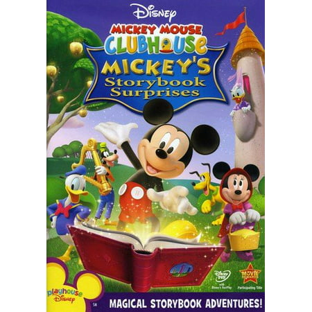 b7ab5954454 Mickey Mouse Clubhouse  Mickey s Storybook Surprises (DVD) - Walmart.com