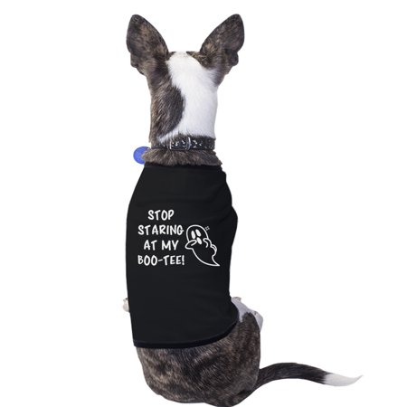 Stop Staring At My Boo-Tee Cute Halloween Pet Shirts For Small Dogs](Happy Halloween Cute Pets)